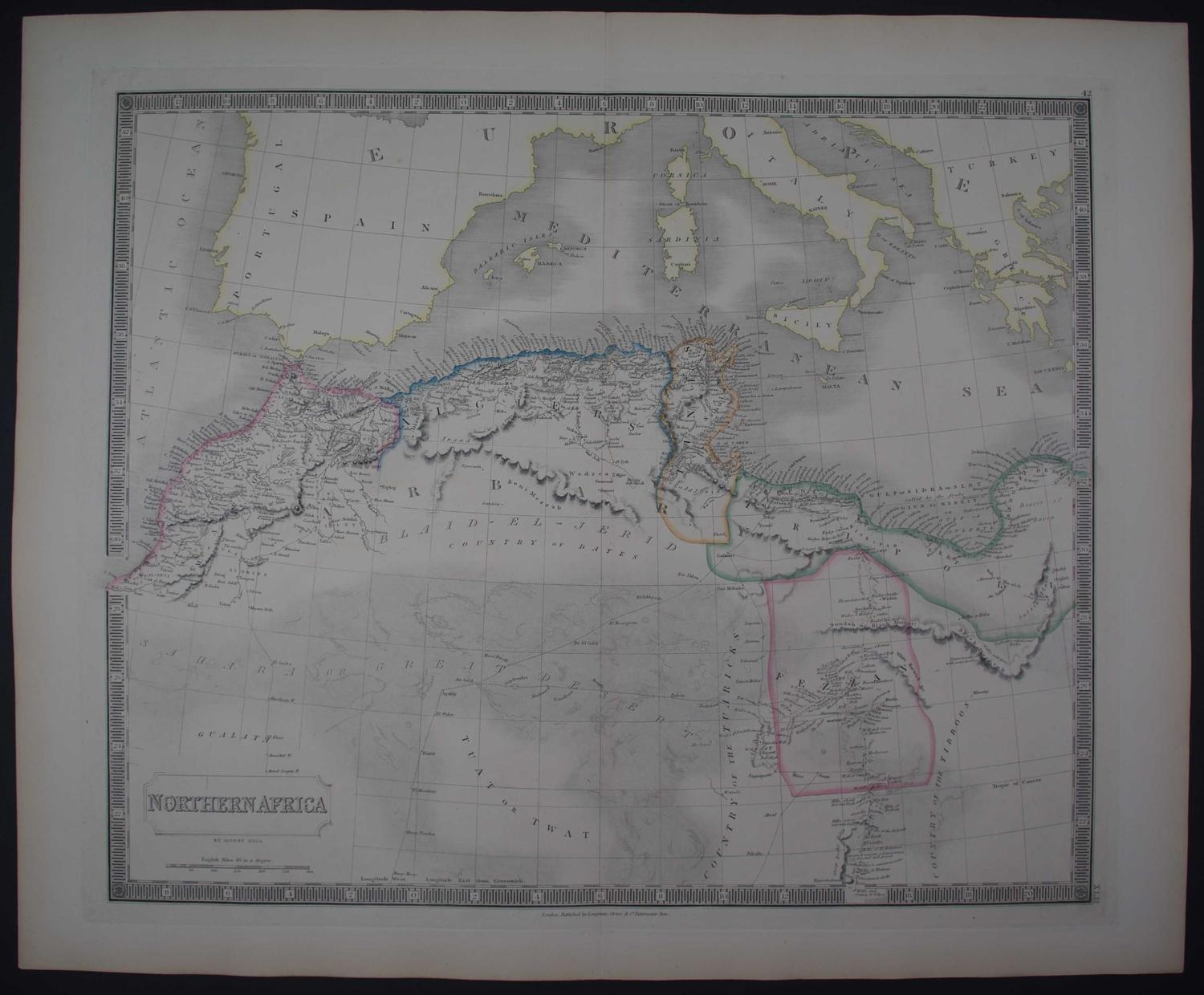 Northern Africa by Sidney Hall