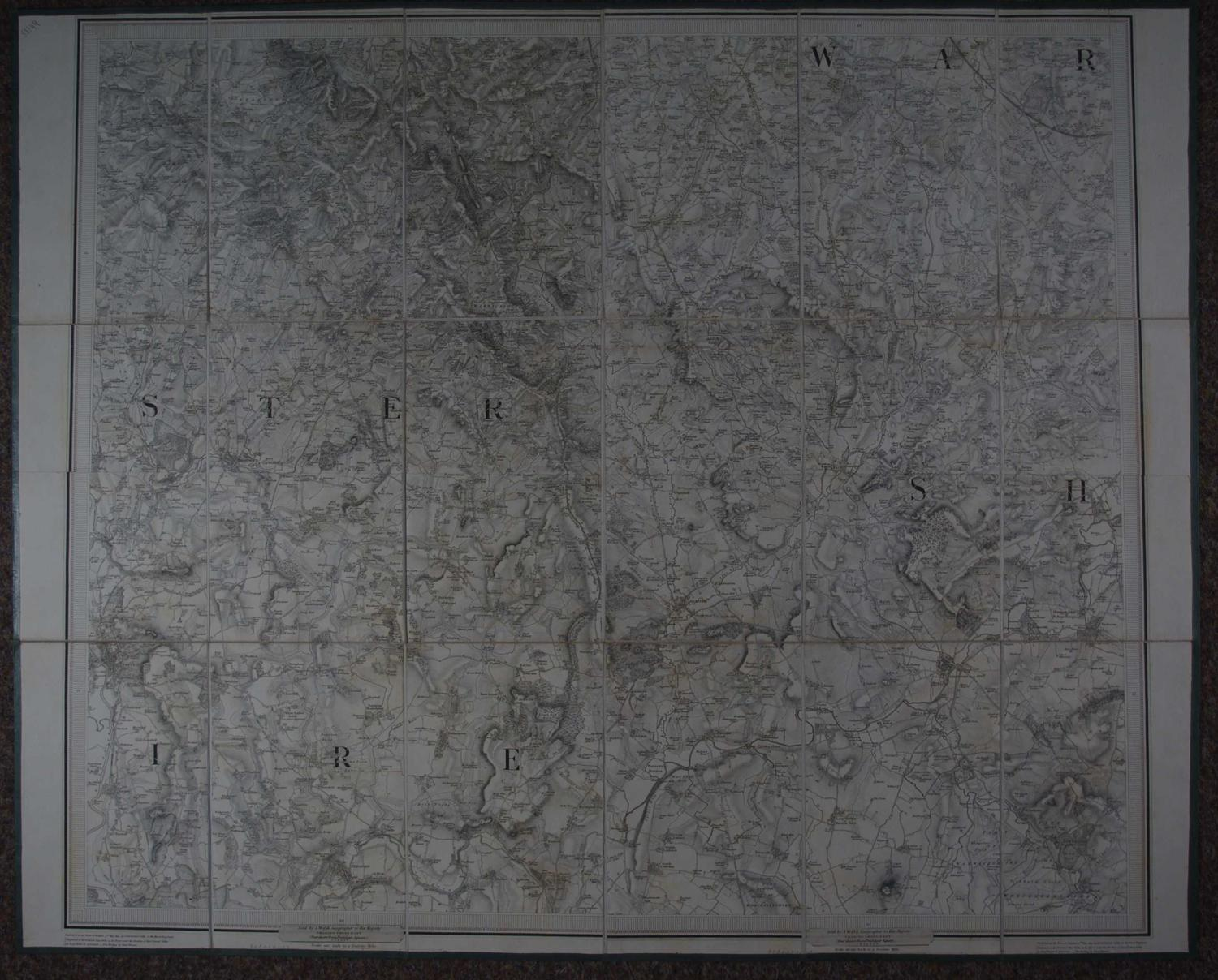 Map Sheet no LXXII by Ordnance Survey