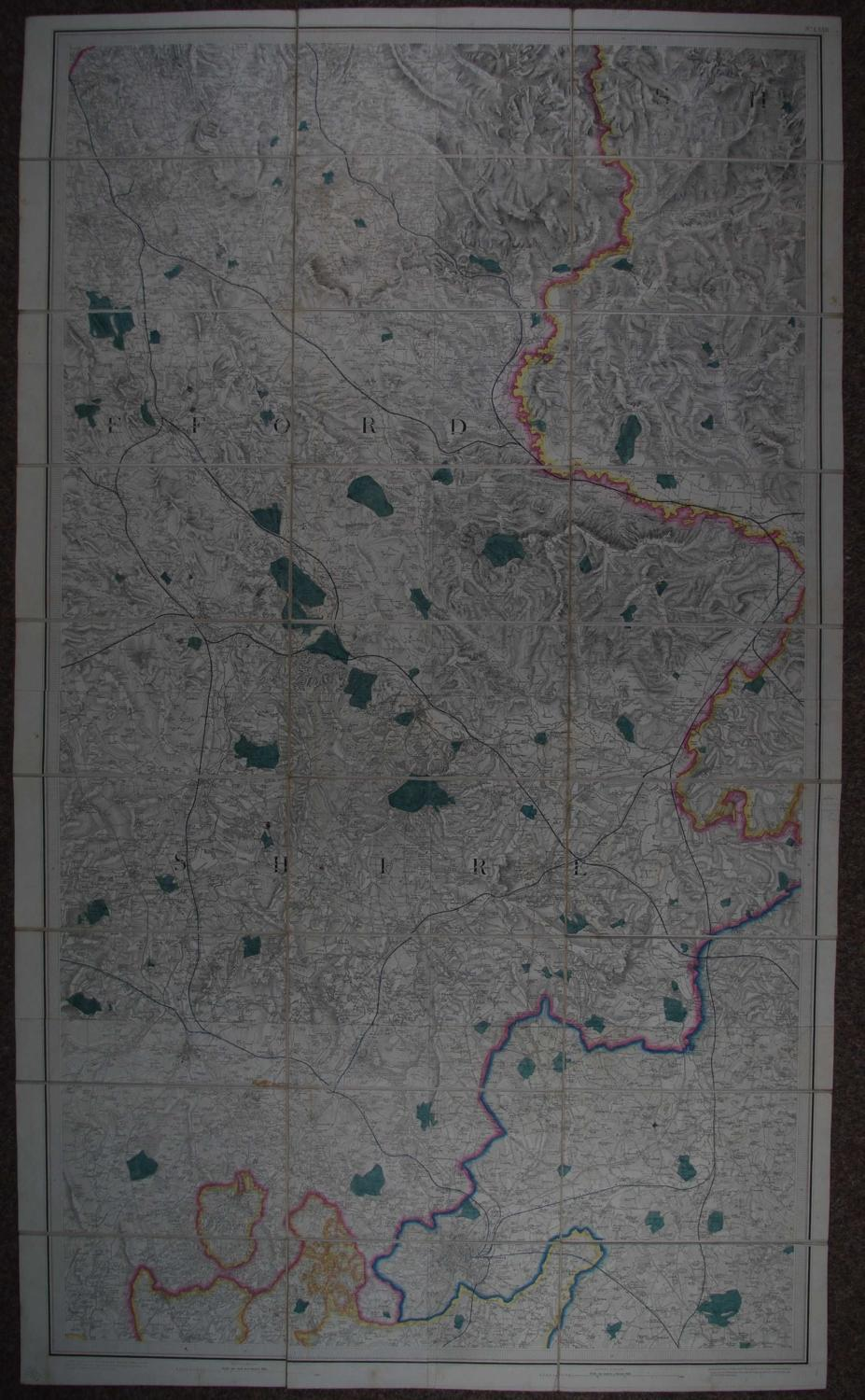 (Worcestershire) by Ordnance Survey  (Worcestershire)