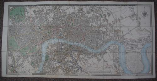 Cruchley's New Plan of London in Miniature
