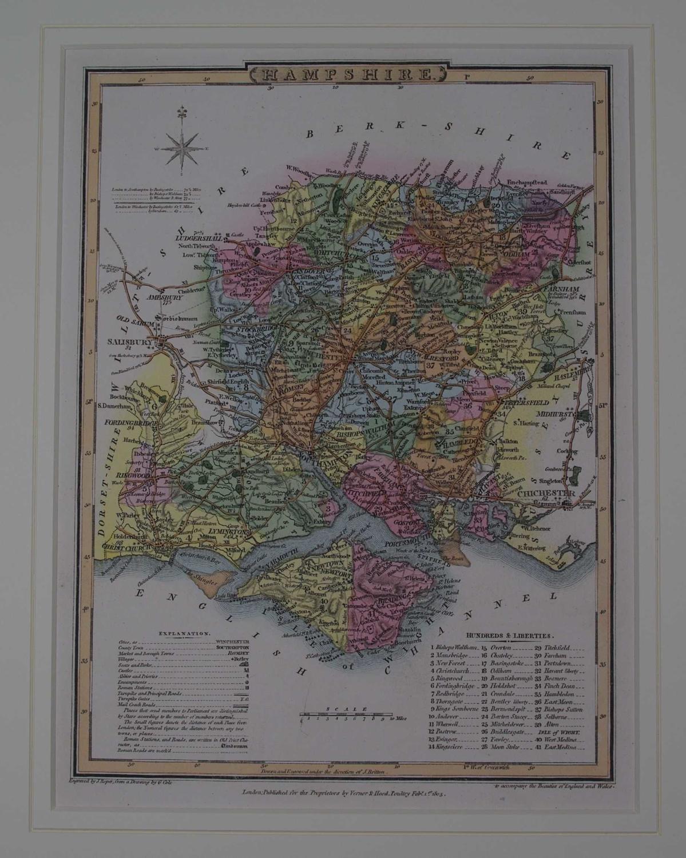 Hampshire by G Cole / J Roper / Joseph Nightingale