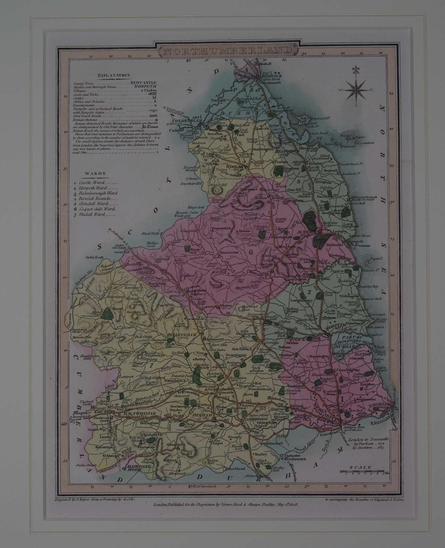 Northumberland by G Cole / J Roper / Joseph Nightingale