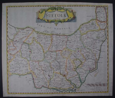 Suffolk by Robert Morden