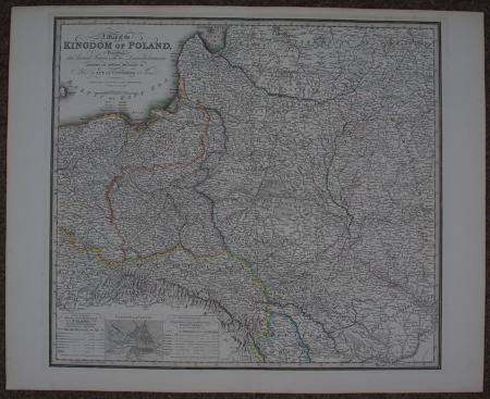 A Map of the Kingdom of Poland by James Wyld