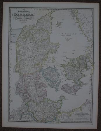 Map of the Kingdom of Denmark by James Wyld