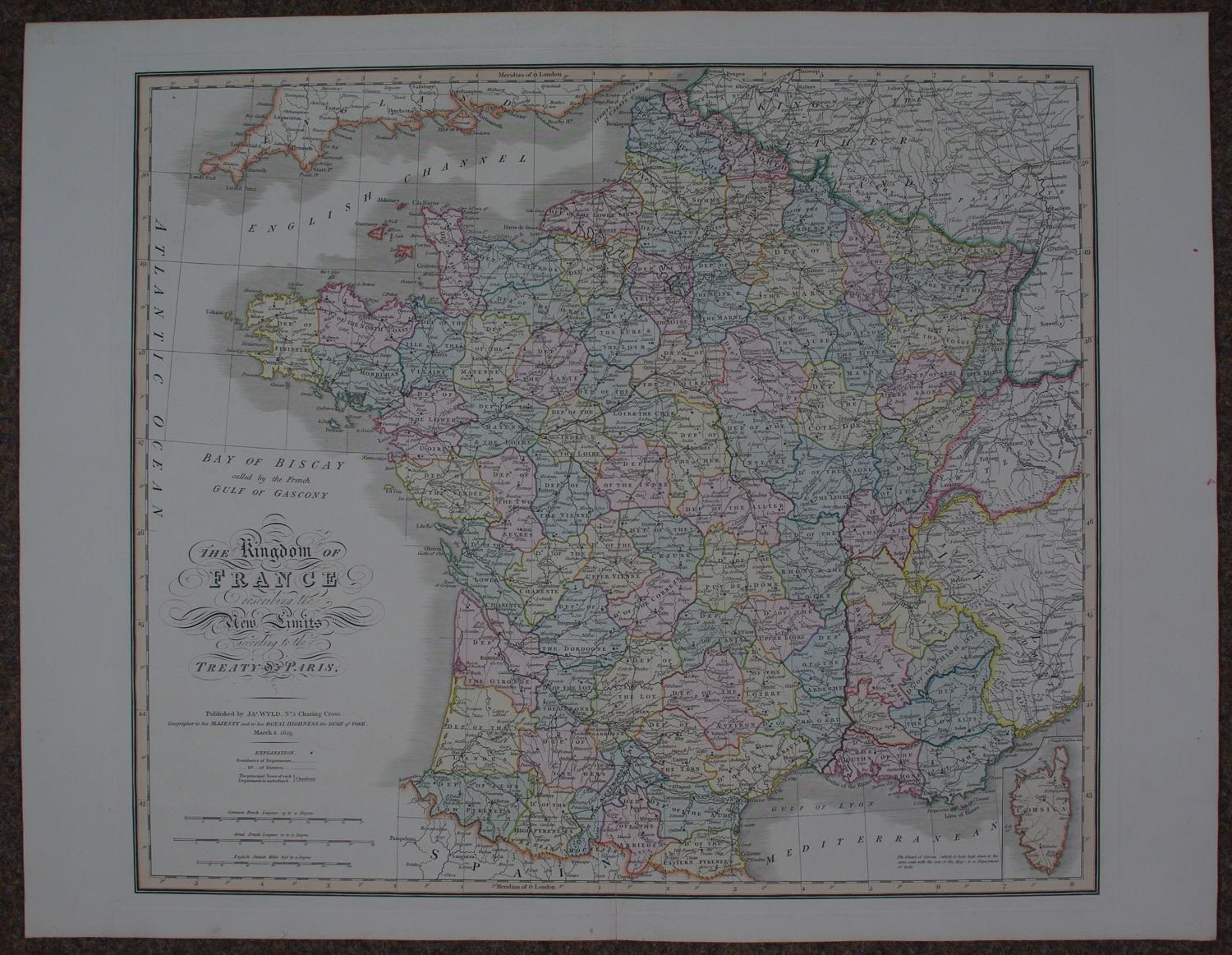 The Kingdom of France by James Wyld