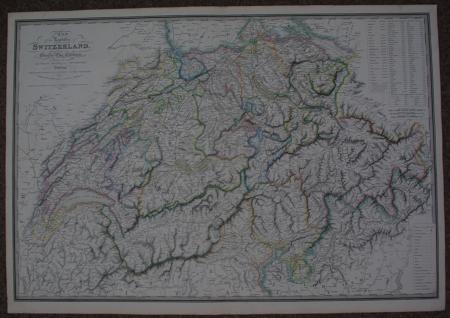 Wyld, James:- Chorographical Map of the Kingdom of Portugal