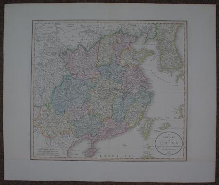 Cary, John:- A New Map of China, from the latest Authorities