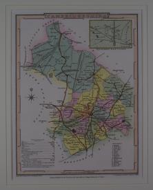 Cambridgeshire by G Cole / J Roper / Joseph Nightingale