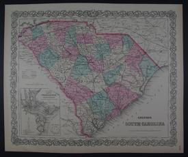 South Carolina by G.W. Colton