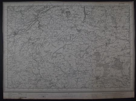 (Knighton)    Sheet 180 by Ordnance Survey