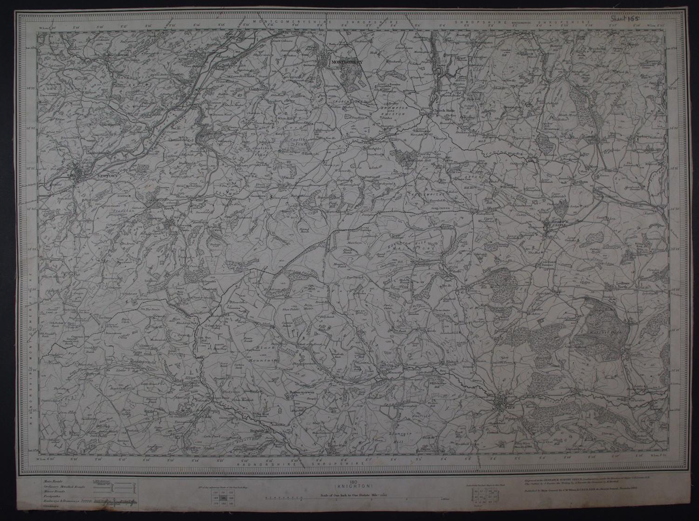 (Knighton)    Sheet 180 by Ordnance Survey