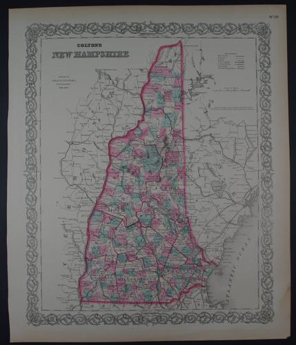 Colton, G.W: Colton's New Hampshire