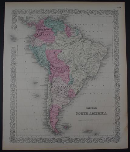 Colton, G.W: South America