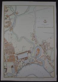 Suburbs of London Sheet 3 Bromley, Blackwall etc by Edward Weller