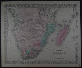 Africa (Southern sheet) by G.W. Colton