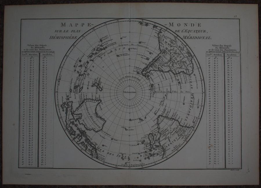 Mappe-Monde by Rigobert Bonne