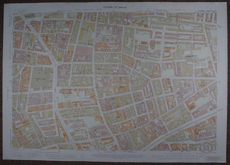 Ordnance Survey London. Sheet VII 57