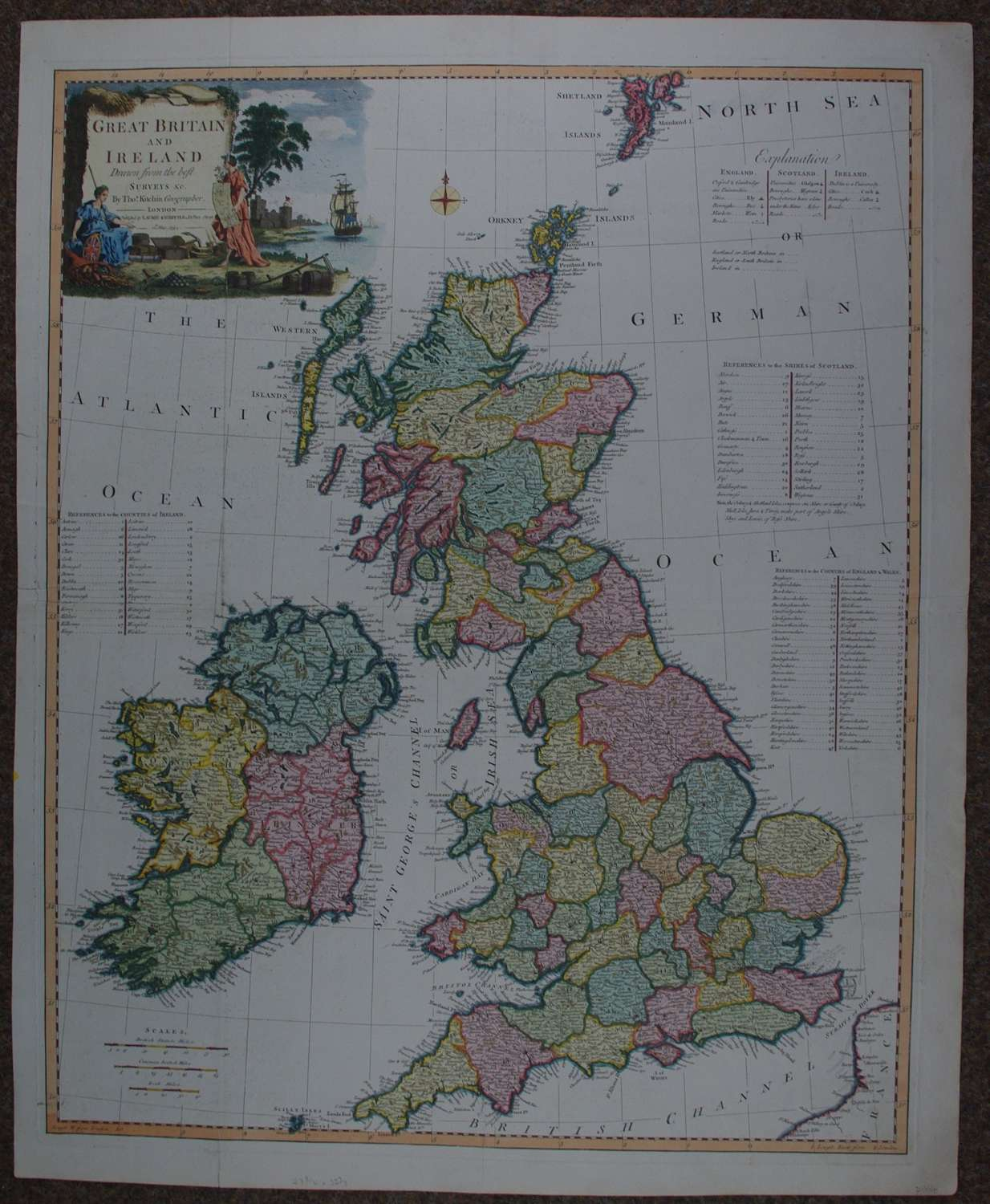 Great Britain and Ireland by Thomas Kitchen