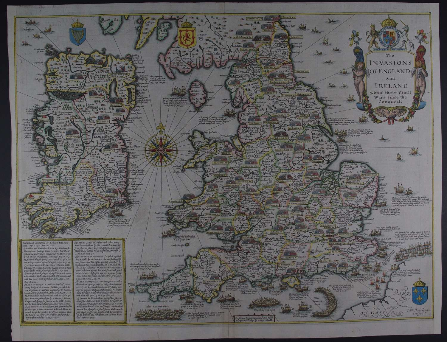 The Invasions of England and Ireland by John Speed