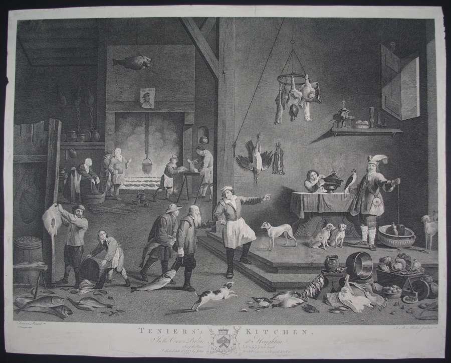 Teniers's Kitchen by David Teniers