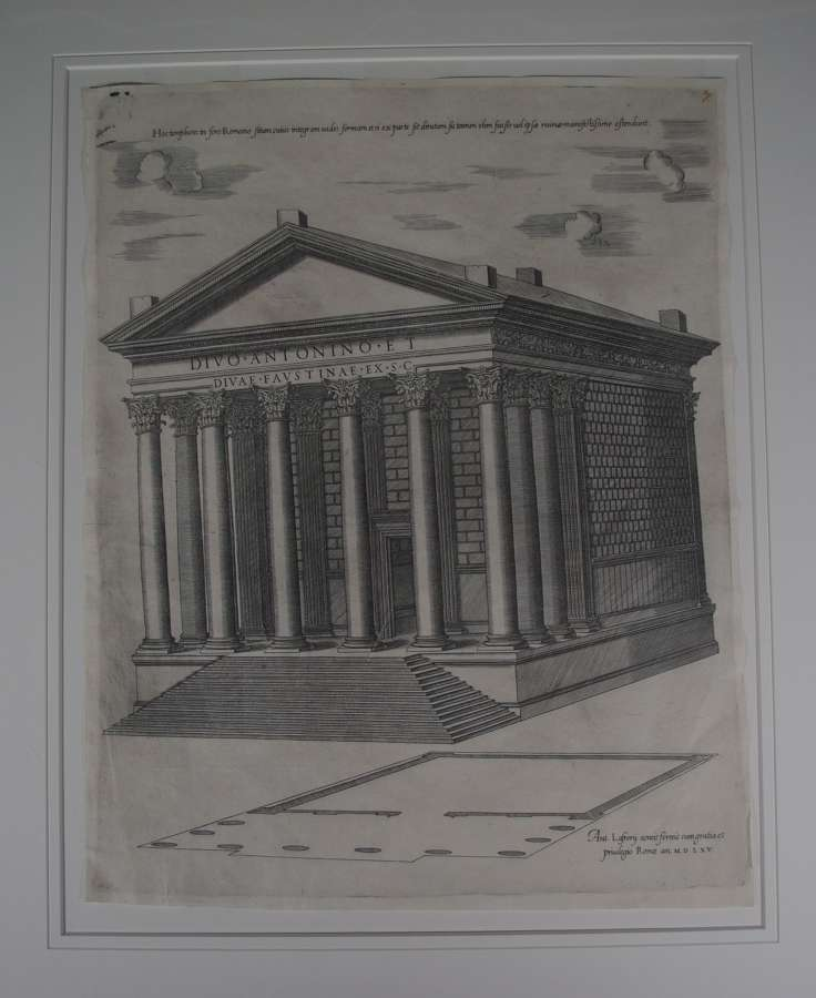 Temple of Antoninus & Faustina-Anon