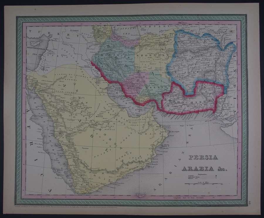 Persia Arabia etc by Thomas, Cowperthwait & Co