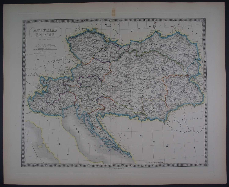 Austrian Empire by Sidney Hall