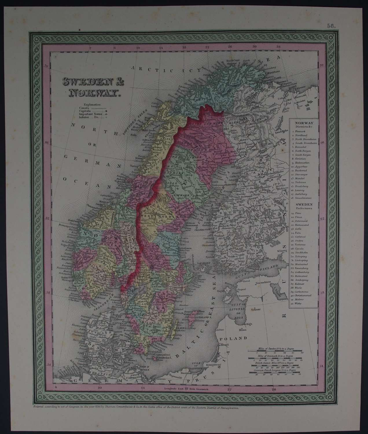 Sweden and Norway by Thomas, Cowperthwait & Co
