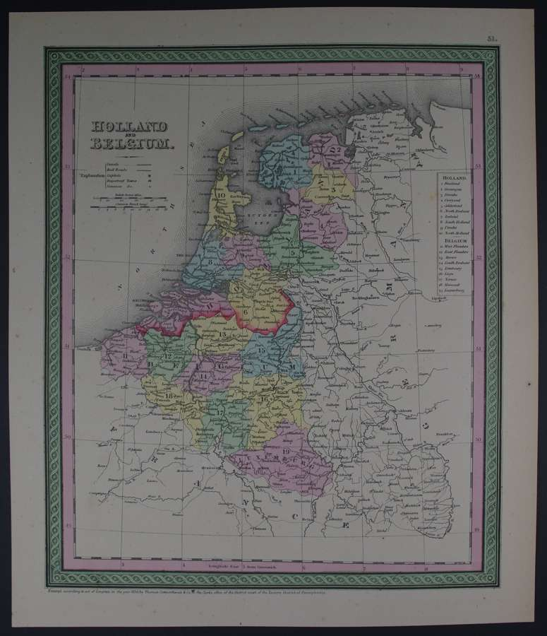 Holland and Belgium by Thomas, Cowperthwait & Co