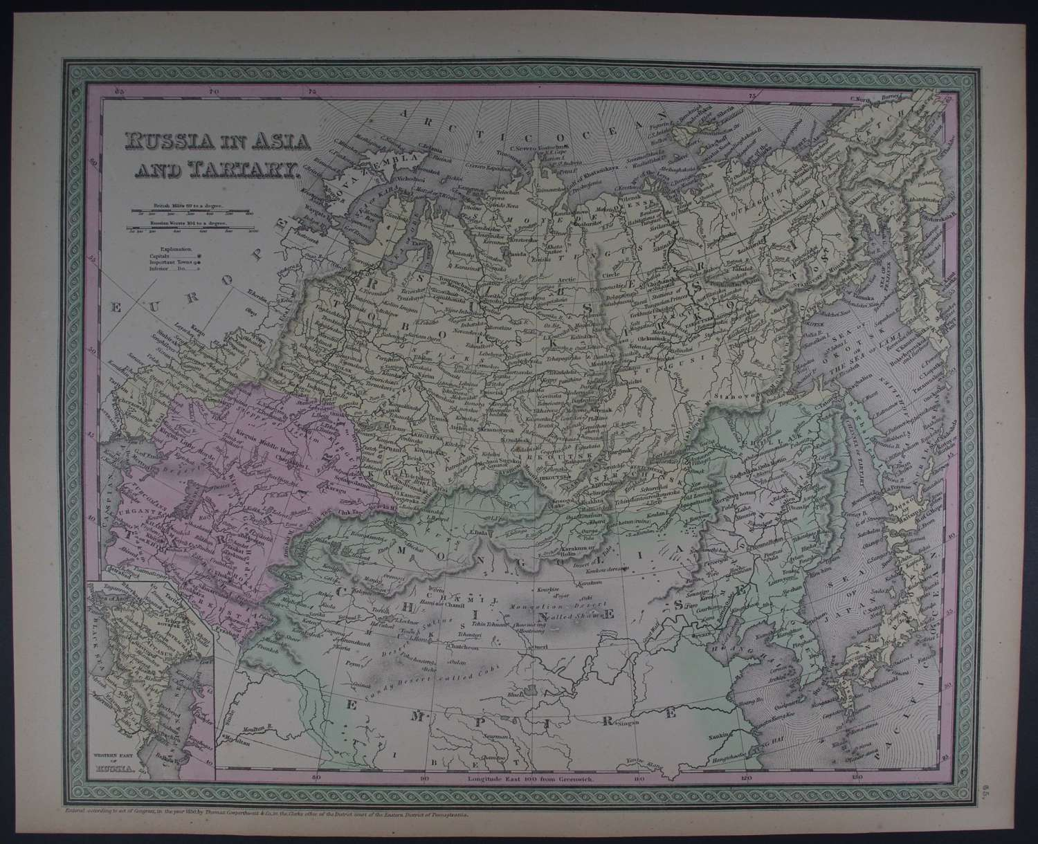 Russia in Asia and Tartary by Thomas Cowperthwait & Co