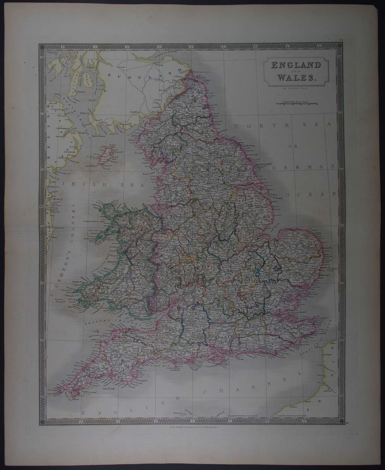 England and Wales by Sidney Hall