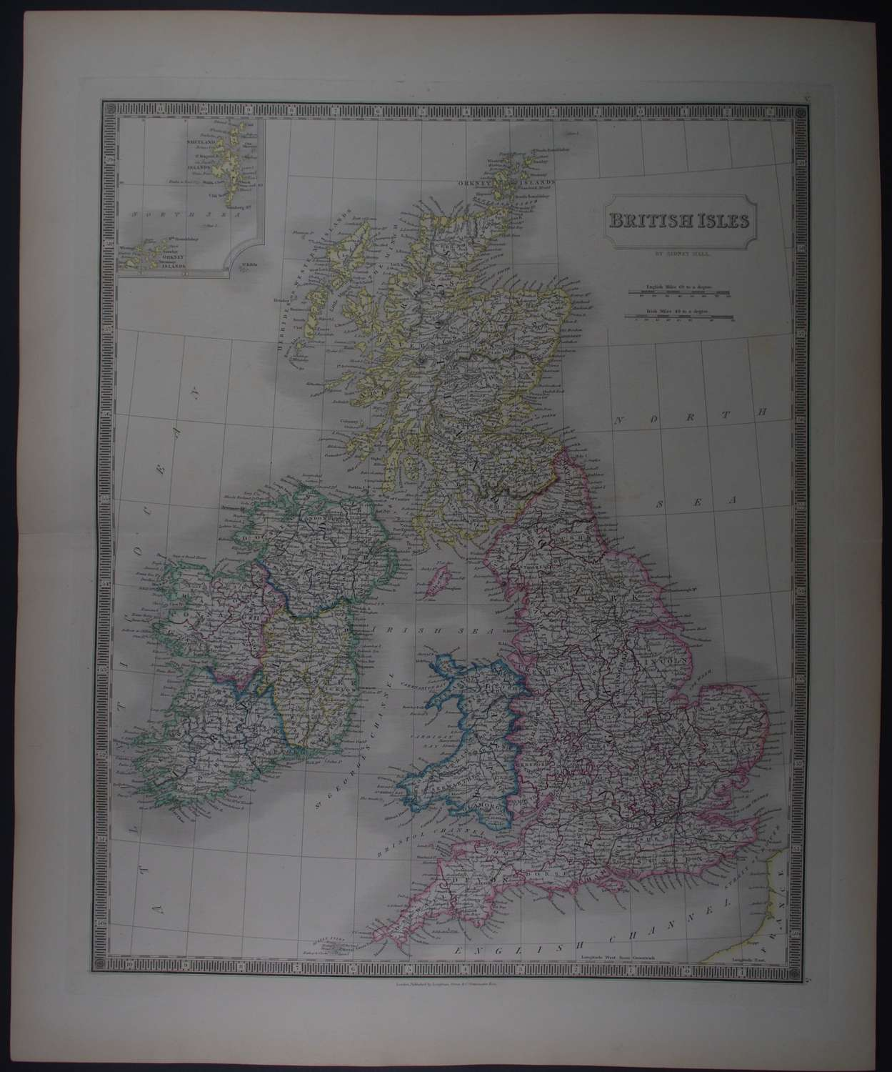 British Isles by Sidney Hall
