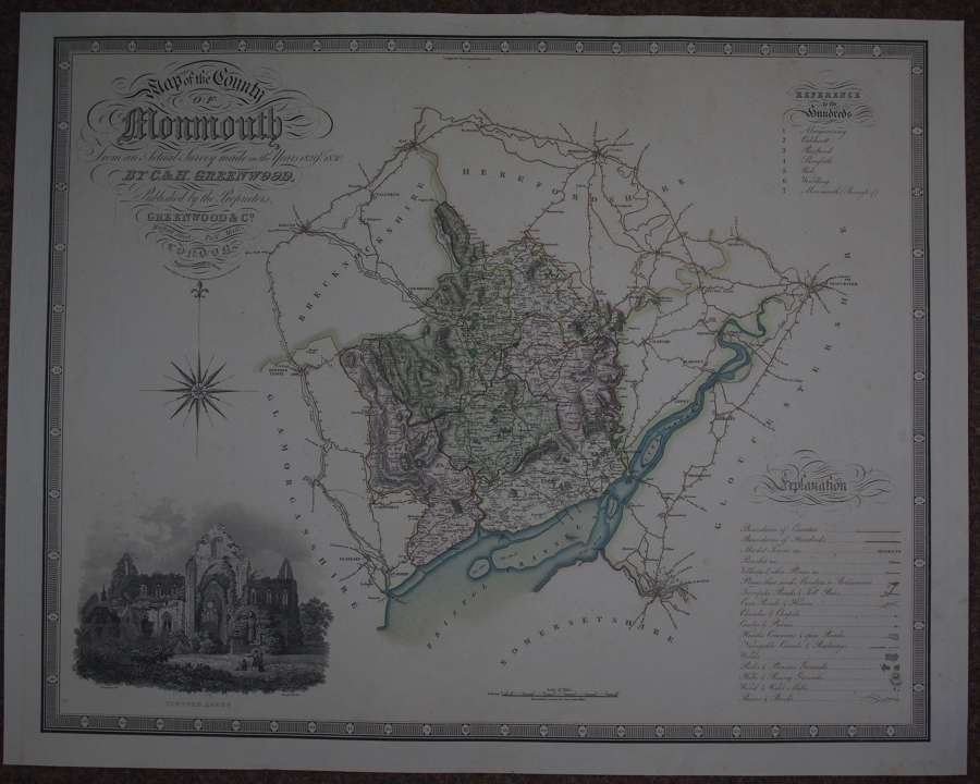 The County of Monmouth by C and J Greenwood