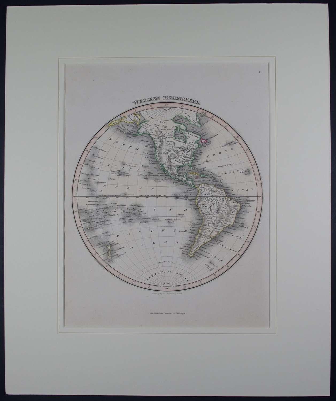 Western Hemisphere by J Wyld and NR Hewett