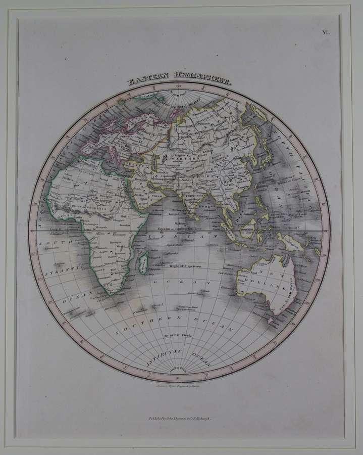 Western Hemisphere by J Wyld and NR Hewitt