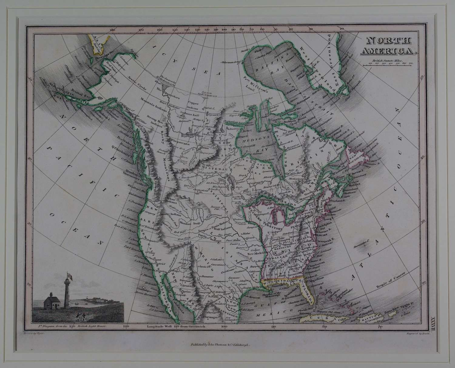 North America by J Wyld and NR Hewitt
