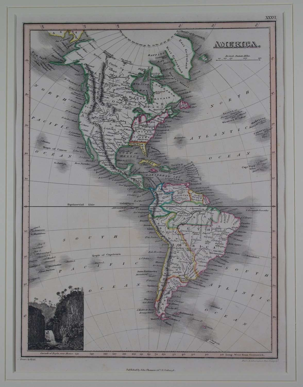 America by J Wyld and NR Hewitt