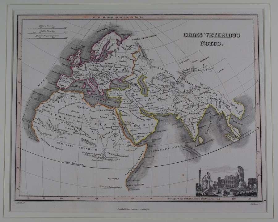 Orbis Veteribus Notus (Known Old World) by J Wyld and NR Hewitt