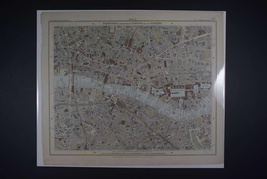 London : Sheet 5 (St.John's Wood....) by Edward Weller