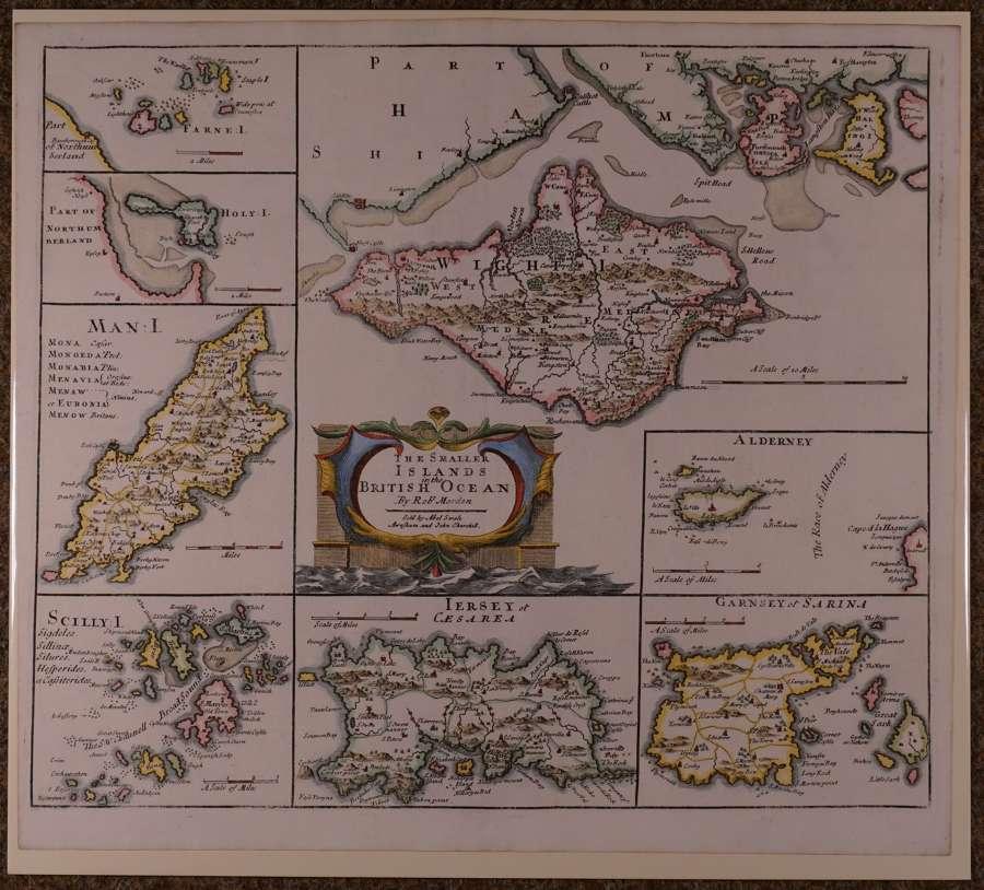 The Smaller Islands in the British Ocean by Robert Morden