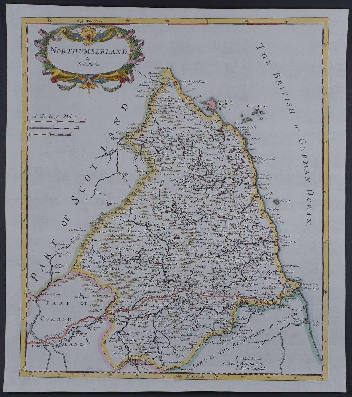 Northumberland by Robert Morden