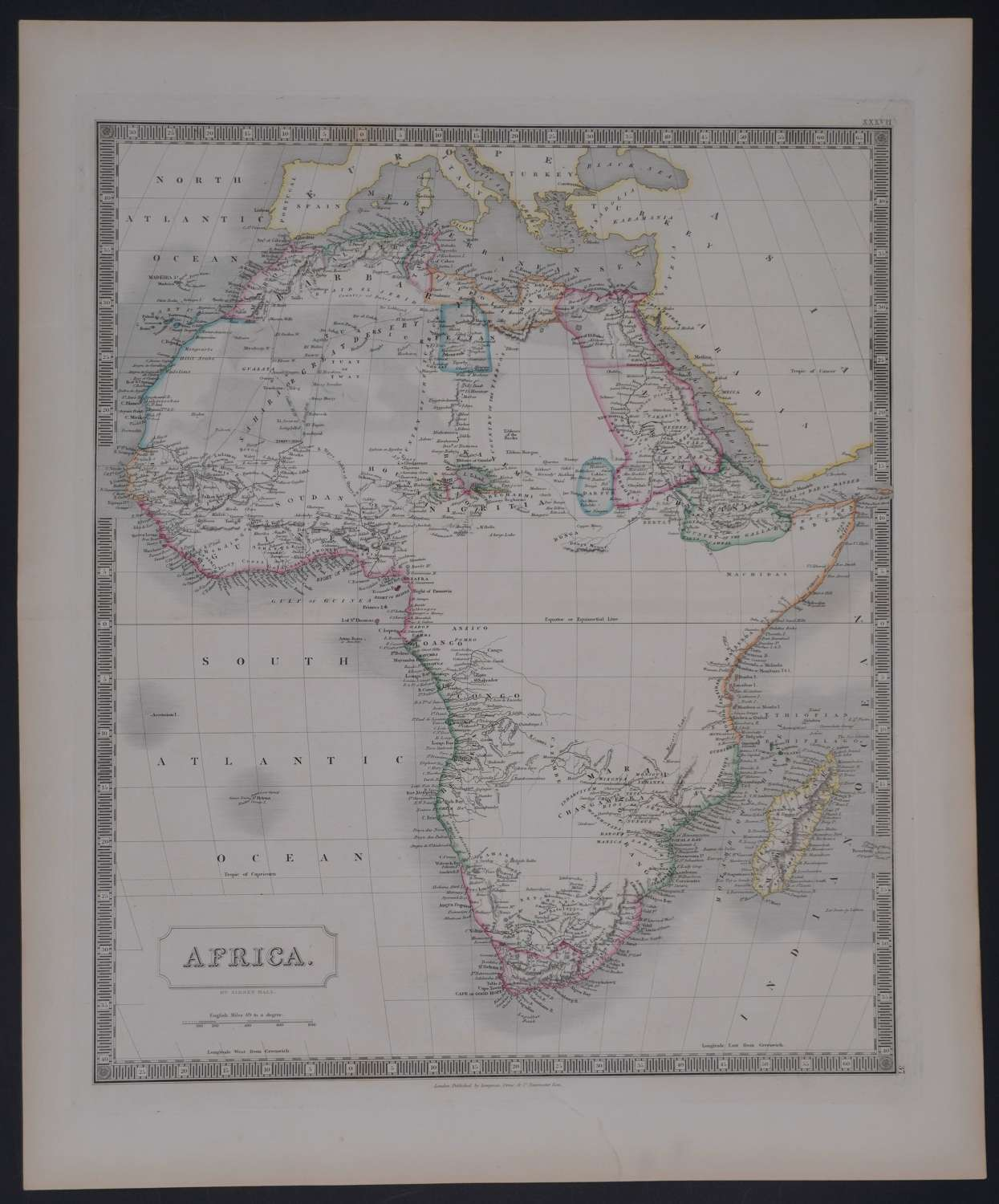 Africa by Sidney Hall