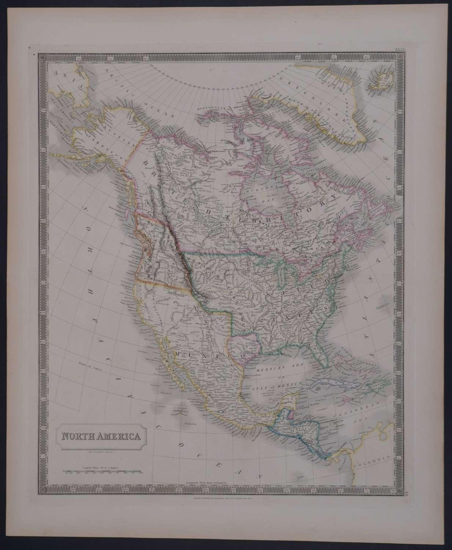 North America by Sidney Hall
