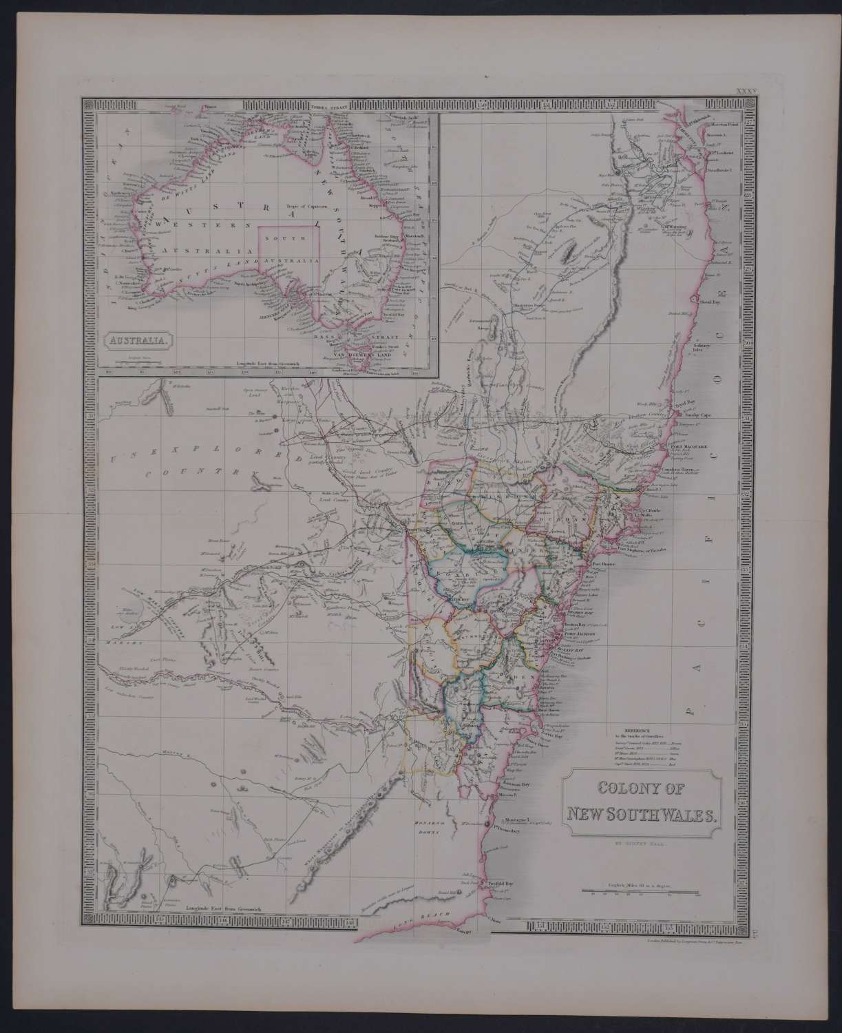 Colony of New South Wales by Sidney Hall