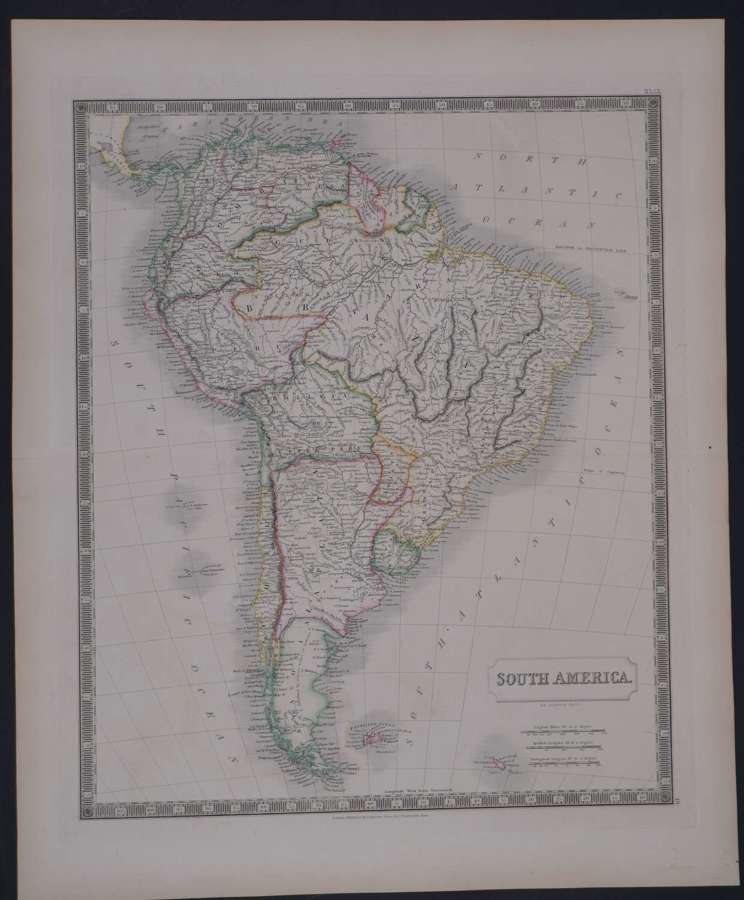 South America by Sidney Hall